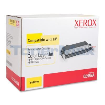 XEROX HP CLJ 4700 TONER CARTRIDGE YELLOW Q5952A